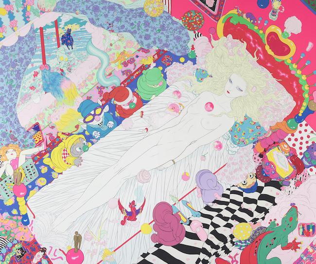 『Spring Awakening』(2019)©AMANO Yoshitaka, Courtesy Mizuma Art Gallery