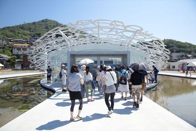 ジャウメ・ブレンサ『男木島の魂』 Photo:Osamu Nakamura