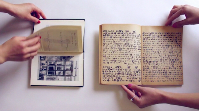 小林エリカ『Your Dear Kitty,  2 Diaries』cErika Kobayashi  Courtesy of Yutaka Kikutake Gallery