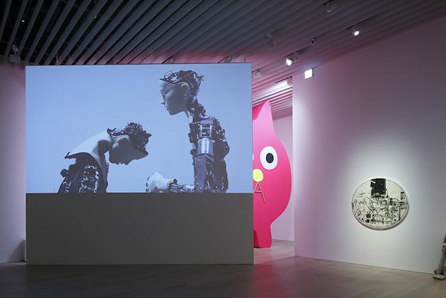 展示風景:「六本木クロッシング2019展:つないでみる」森美術館(東京) 撮影:木奥惠三 画像提供:森美術館