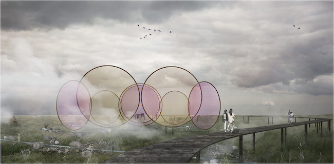 Studio Other Spaces: Olafur Eliasson and Sebastian Behmann『Condensation pavilion』(参考画像)Courtesy of the artist