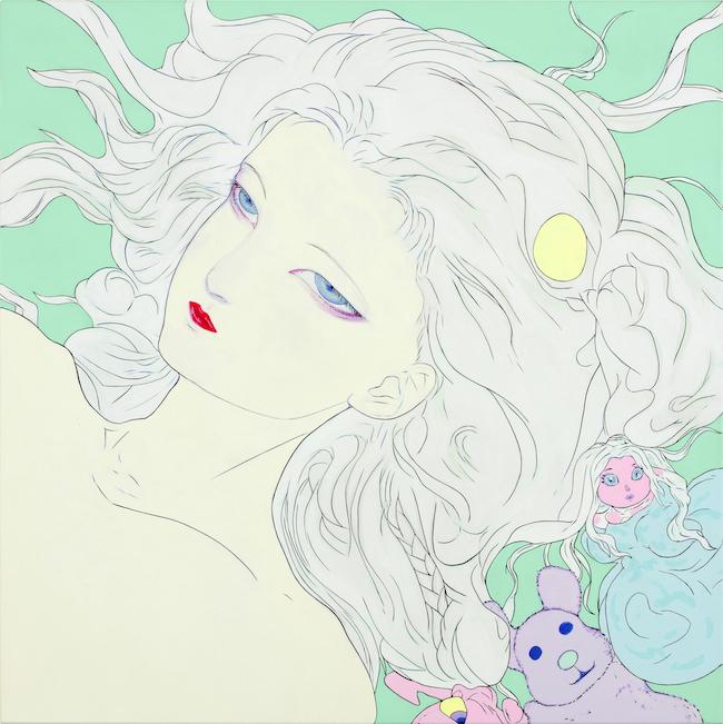 『Lady Blue』(2018) ©AMANO Yoshitaka, Courtesy Mizuma Art Gallery