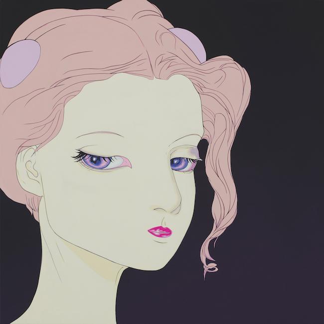 『Lady Purple』(2019) ©AMANO Yoshitaka, Courtesy Mizuma Art Gallery