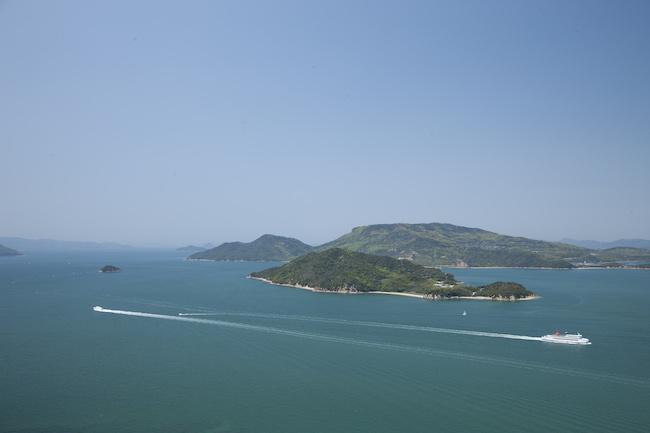 会場となる、美しい瀬戸内海の風景 Photo:Osamu Nakamura