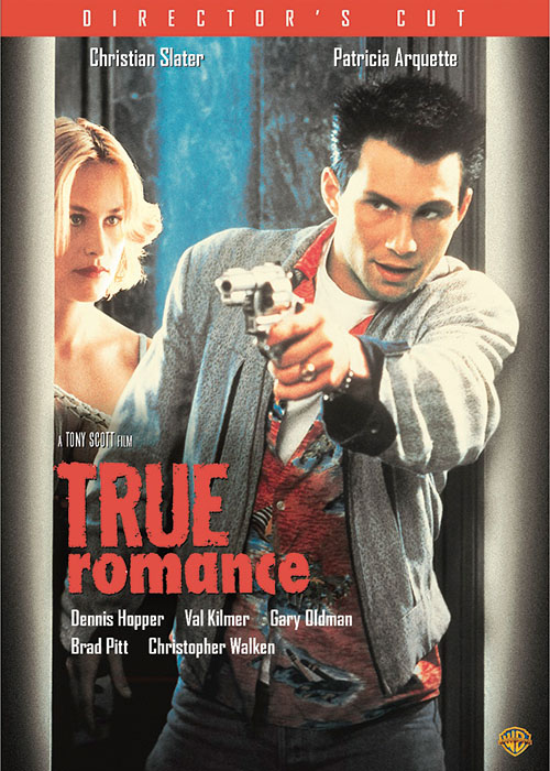 True Romance © 1993 Morgan Creek Productions, Inc. Package Design c2014 Morgan Creek Productions, Inc. and Warner Bros. Entertainment Inc. All rights reserved.
