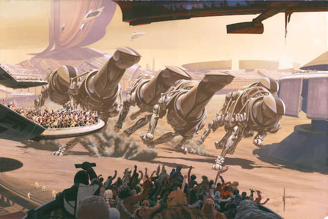 Running of the Six Drgxx (C)Syd Mead, Inc