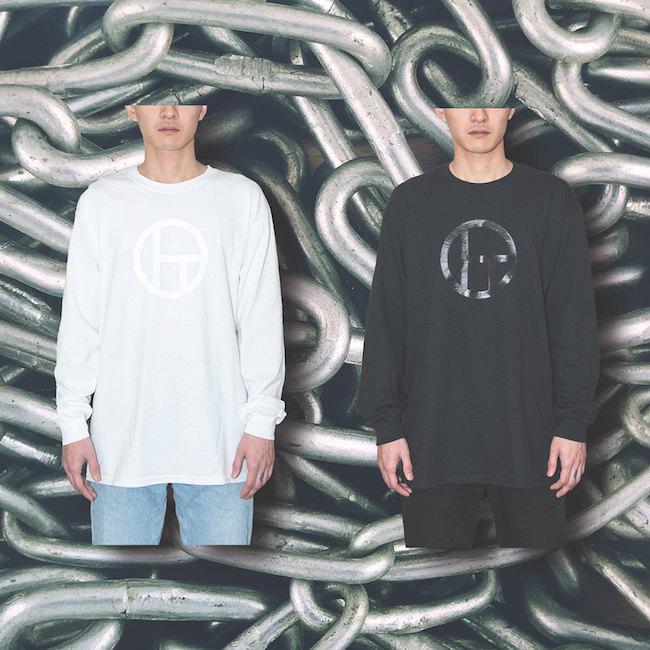 ロングTシャツ(ホワイト、ブラック)各¥9,000