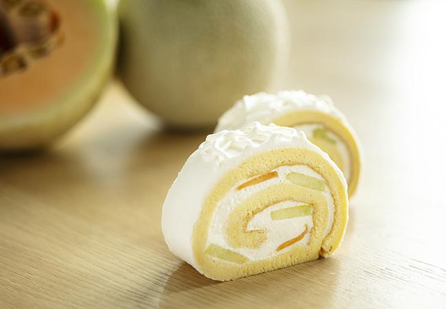 メロンロールケーキ ¥550