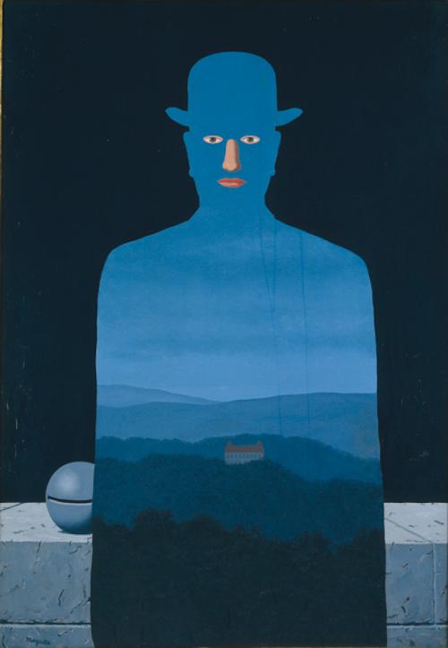 ルネ・マグリット『王様の美術館』(1966) 横浜美術館蔵