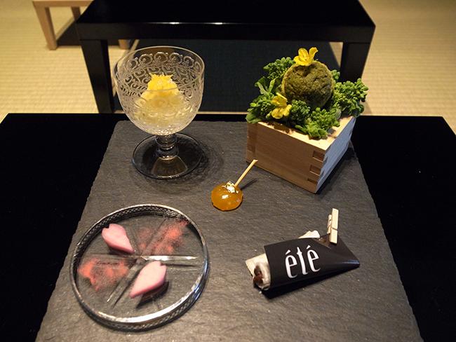 レストラン「été」オーナーシェフの庄司夏子氏が手がけた酒の肴