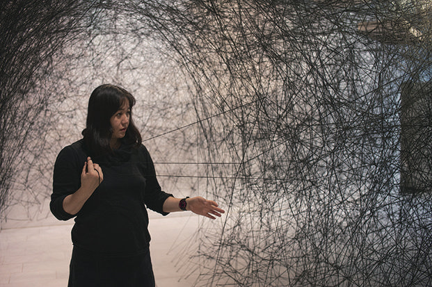 塩田千春近影 撮影:Sunhi Mang