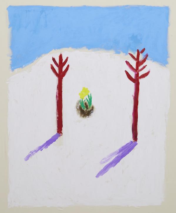 イサム・ノグチの手紙 5ページ目 a letter from ISAMU NOGUCHI p5 2019 acrylic on canvas 151.0 x 121.0 cm ©Ellie Omiya