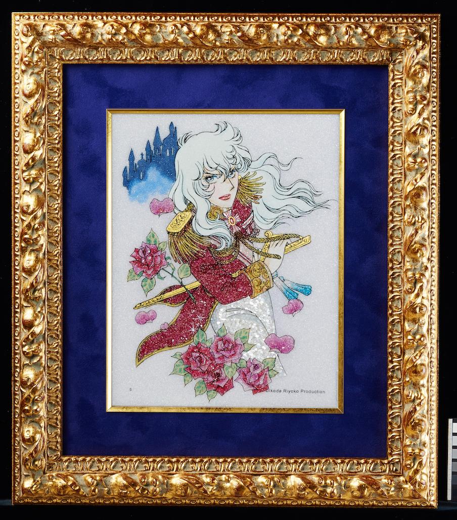 © Ikeda Riyoko Production ¥29,800~¥1,680,000円(税抜) ※サイズにより価格は異なります。(池田理代子直筆サイン入りはM、Lサイズのみ)