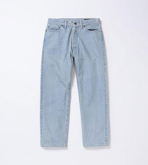 クロップドデニム(ブルー、グレー2色展開) ¥24,000