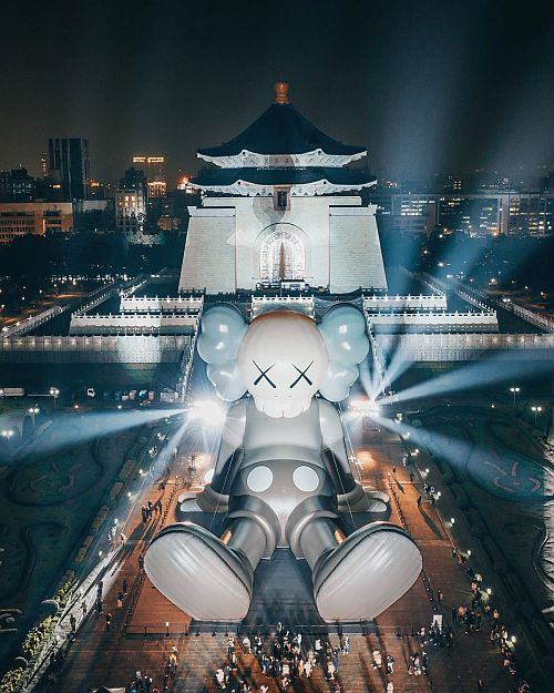 台湾での開催風景