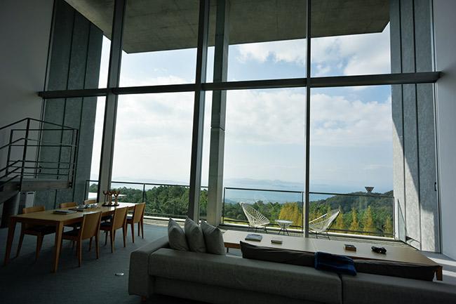 最上階にある「THE AONAGIスイート」は広さ169.6平方メートル。