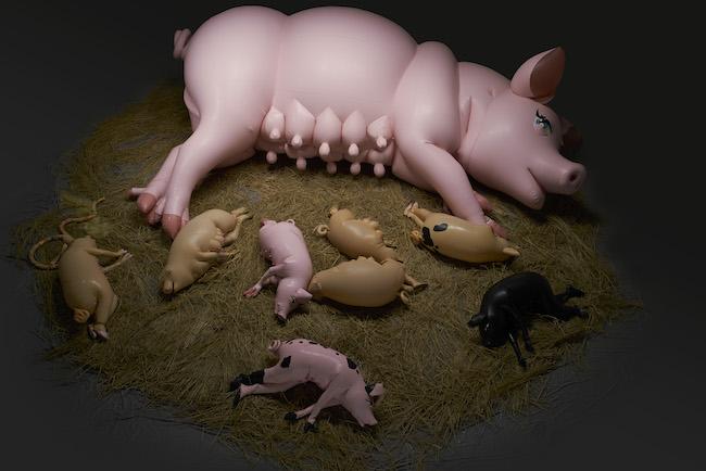 サエボーグ『Pigpen movie』(2016年) Photo: Takeo Hibino