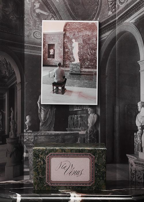 『ミロのヴィーナス』と調香師 ジャン=クリストフ・エローの写真