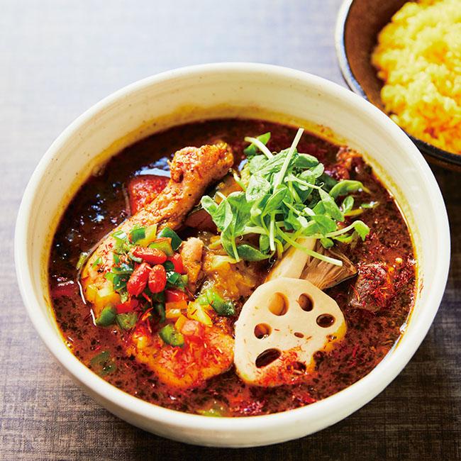 「チキンと野菜の薬膳スープカレー」¥1,450
