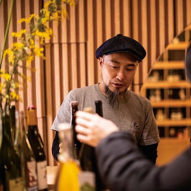 オーナーの深川健光さん。