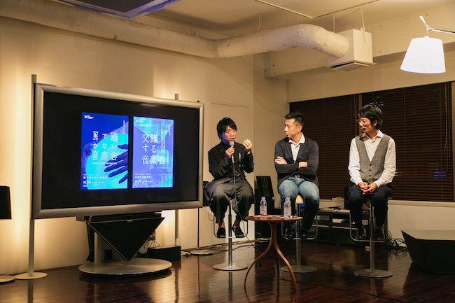 7月22日に開催された公開インタビューにて。(Photo: 野呂美帆)