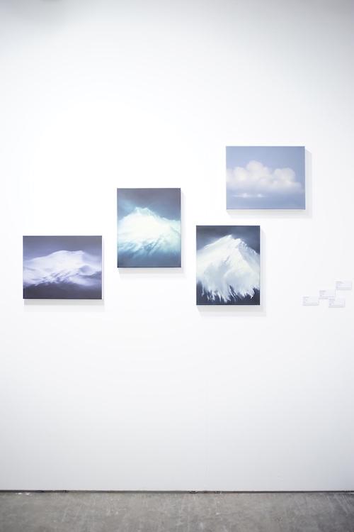 作品名: Installation View of the works by Jenny Pockley 作家名: Jenny Pockley 出展者:CHRISTINE PARK GALLERY