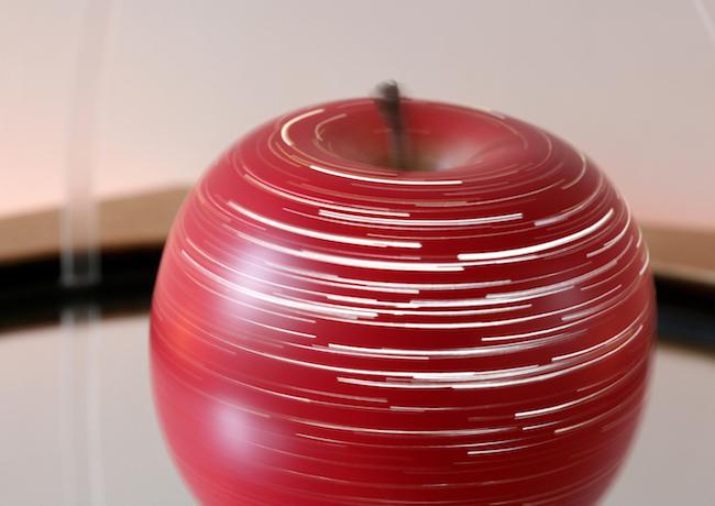 鈴木康広『りんごの天体観測』2006