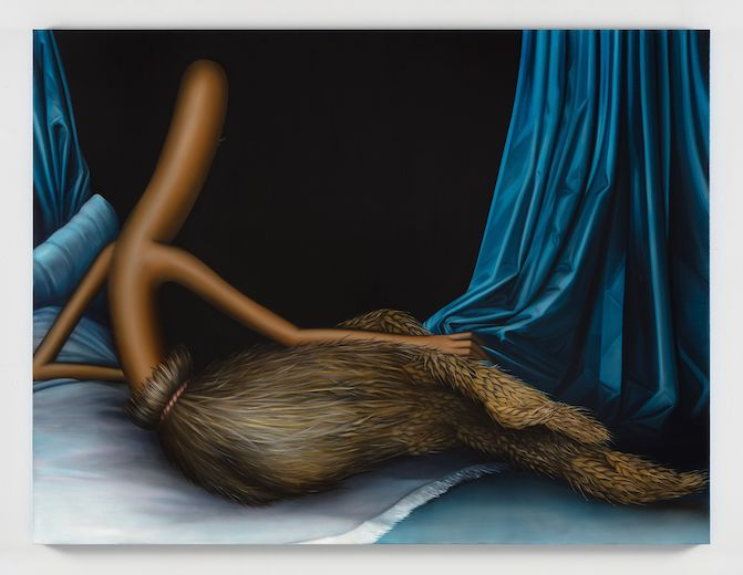 『Gleaner Odalisque』(2019) Photographer: Charles Benton. Courtesy of the artist and Perrotin.