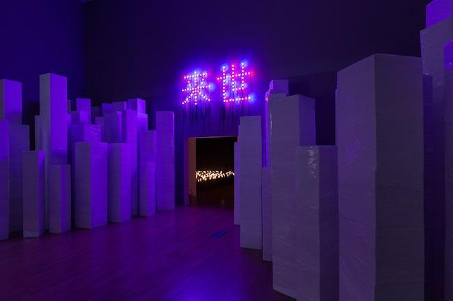 提供:朝日新聞社/撮影:山本倫子「クリスチャン・ボルタンスキー ―Lifetime」展  2019年 国立新美術館展示風景