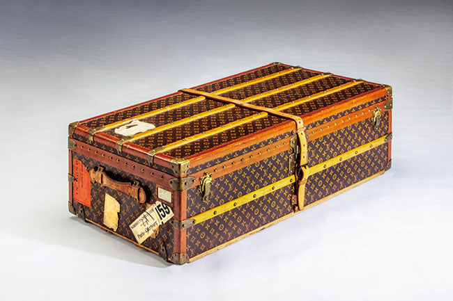 Louis Vuitton 1920年代 京都服飾文化研究財団所蔵 Photo: 畠山崇