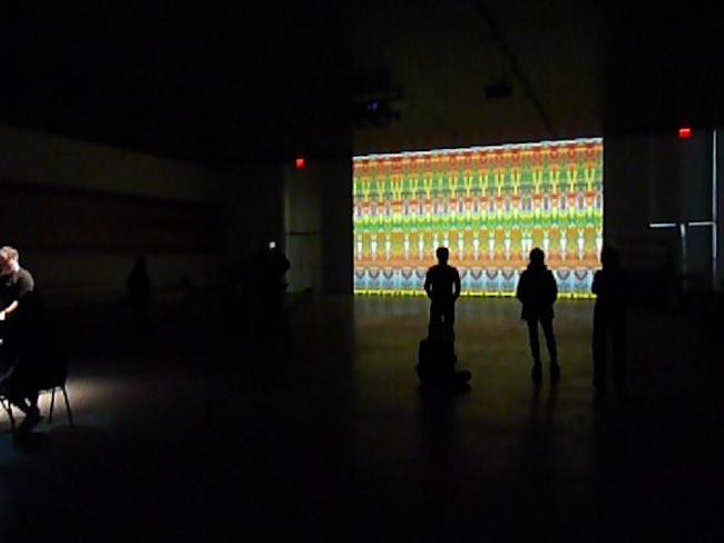 「ライヒ リヒター ペルト」展示風景 The Shed(2019年、ニューヨーク) (C)R.Heinen