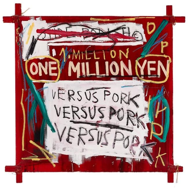 ジャン=ミシェル・バスキア<br /> Napoleon, 1982<br /> Private Collection, Courtesy of the Milwaukee Art Museum<br /> Photo: John R. Glembin<br /> Artwork © Estate of Jean-Michel Basquiat.<br /> Licensed by Artestar, New York