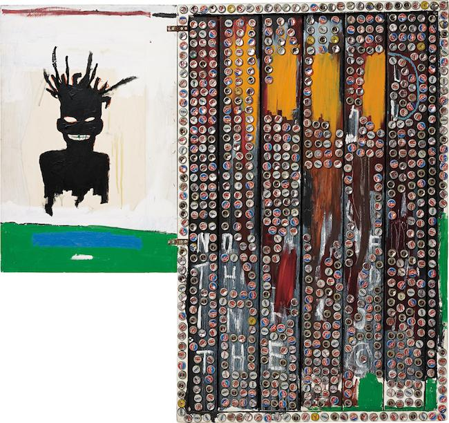 ジャン=ミシェル・バスキア<br /> Self-Portrait, 1985<br /> Private Collection<br /> Photo: Max Yawney<br /> Artwork © Estate of Jean-Michel Basquiat.<br /> Licensed by Artestar, New York