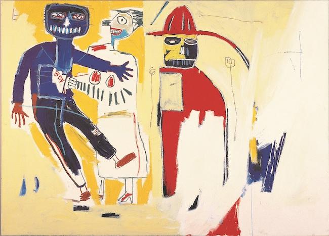 Artwork © Estate of Jean-Michel Basquiat.<br /> Licensed by Artestar, New York<br /> ジャン=ミシェル・バスキア<br /> Bombero, 1983<br /> KITAKYUSHU MUNICIPAL MUSEUM OF ART<br /> Artwork © Estate of Jean-Michel Basquiat.<br /> Licensed by Artestar, New York
