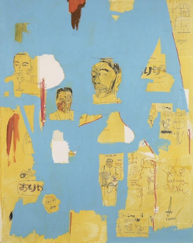 ジャン=ミシェル・バスキア<br /> Plastic Sax, 1984<br /> Collection agnès b.<br /> Artwork © Estate of Jean-Michel Basquiat.<br /> Licensed by Artestar, New York