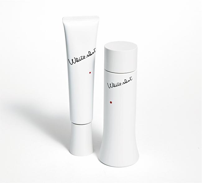 (左から)ホワイト ショット  MX [78g] 、同LX [150ml]各¥11,000(ともに医薬部外品)/ポーラ