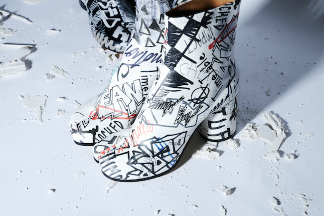 「タビ」ブーツ ¥144,000