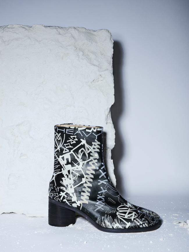 「タビ」ブーツ¥155,000
