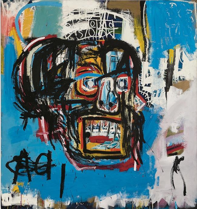 ジャン=ミシェル・バスキア<br /> Untitled, 1982<br /> Yusaku Maezawa Collection, Chiba<br /> Artwork © Estate of Jean-Michel Basquiat.<br /> Licensed by Artestar, New York