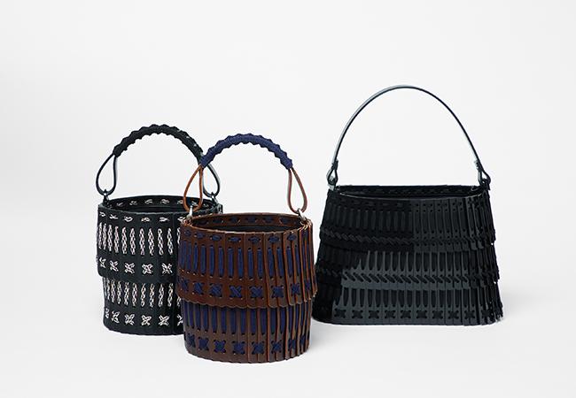 HATORI バッグ 左、中央 ¥120,800、右 ¥151,800