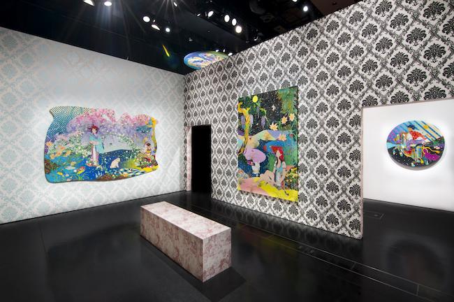 東京・新宿のルミネゼロで2018年4〜5月に開催された個展「Same Same, Different」の展示風景。本展が日本での10年ぶりの展示となった。 © Tomokazu Matsuyama