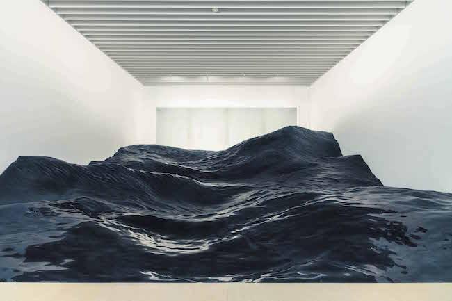 『景体』制作:2019年 実施場所:森美術館「六本木クロッシング2019」Photo: Takahiro Tsushima