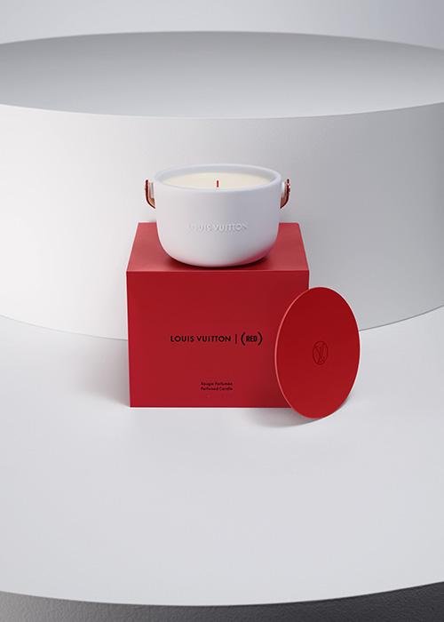 パフュームド キャンドル ¥25,000(220g)※数量限定販売  ©︎Louis Vuitton