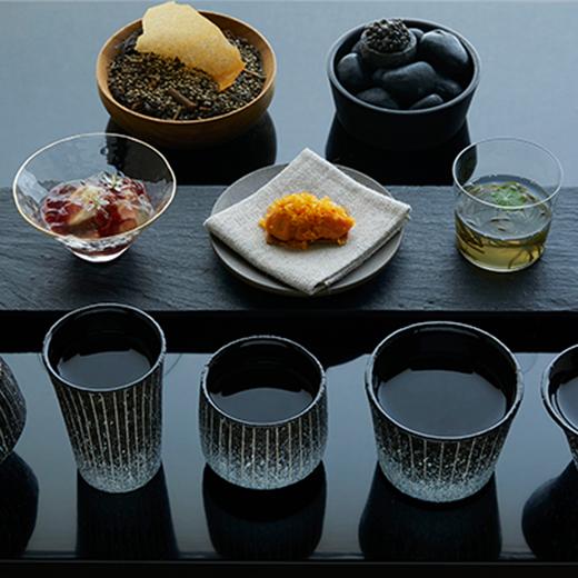星付きレストラン「アビス」×日本酒の極上体験