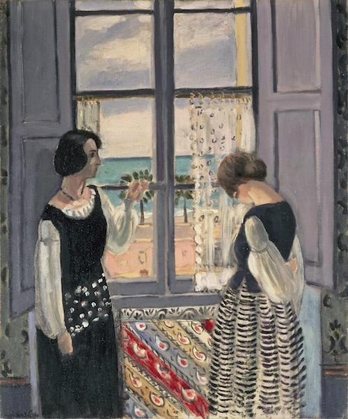 アンリ・マティス 『待つ』1921-22年 油彩・キャンバス 61×50cm 愛知県美術館