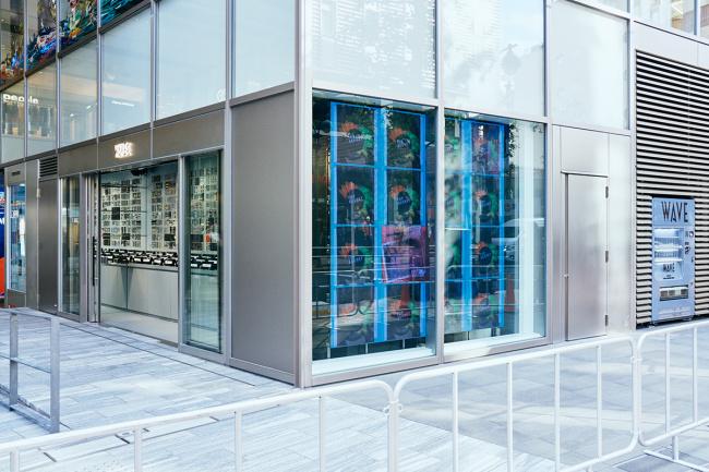 渋谷パルコの新店舗外観。