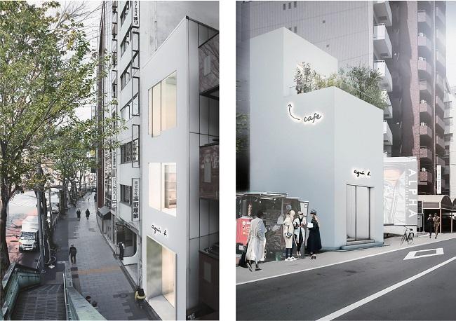 アニエスベー渋谷店