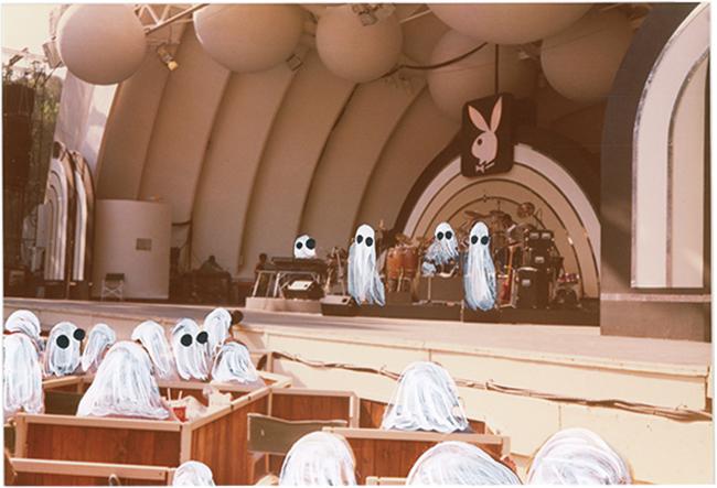 「Ghost Photographs」シリーズより。『Hollywood Bowl』(2019年)©ANGELA DEANE