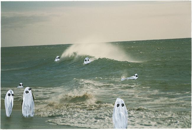 「Ghost Photographs」シリーズより。『 I See the Green Sea』(2019年)©ANGELA DEANE