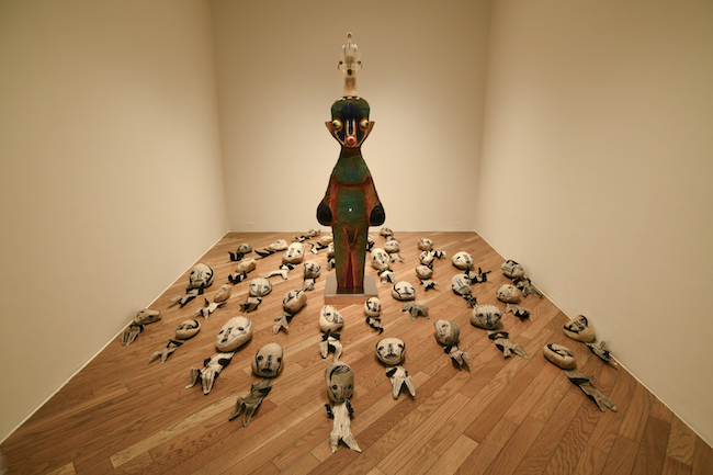 原美術館 展示風景 Photo: Yusuke Sato Courtesy of the artist and Hara Museum ©️2019 Izumi Kato